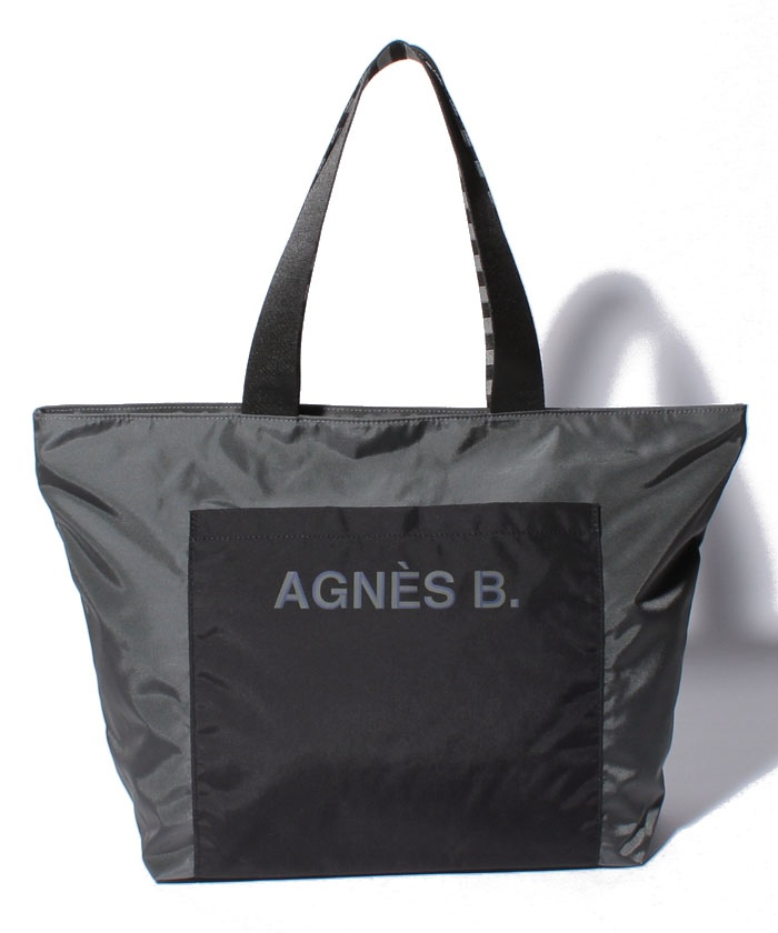 agnes bのナイロントートバック