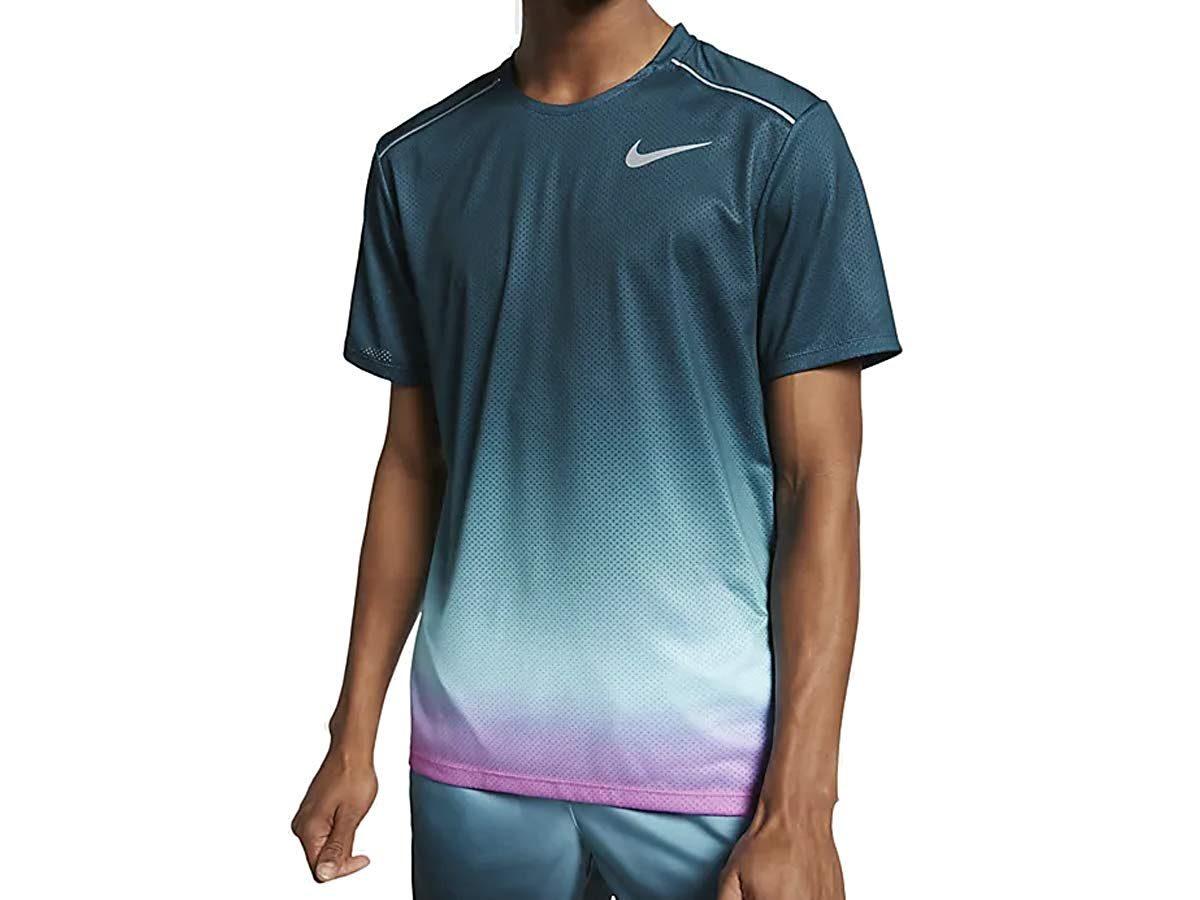 メンズ ランニング Tシャツ DRI-FIT マイラー