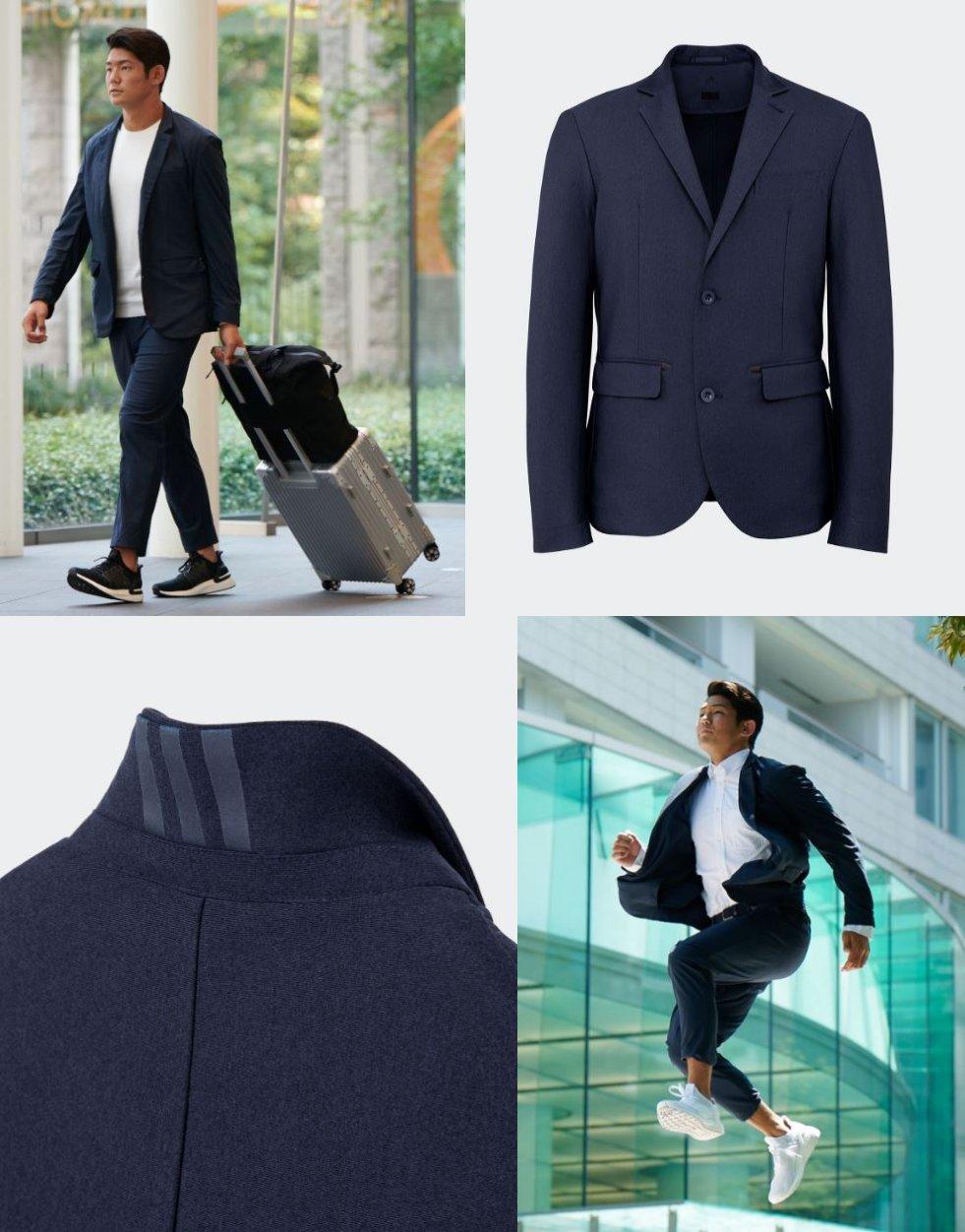 アディダス ISETAN / ICON スーツジャケット