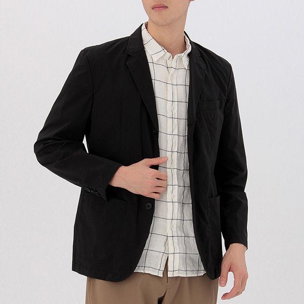 無印良品 撥水ストレッチナイロン7ポケットジャケット