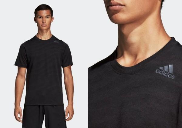 M4TニットグラフィックプリントTシャツ