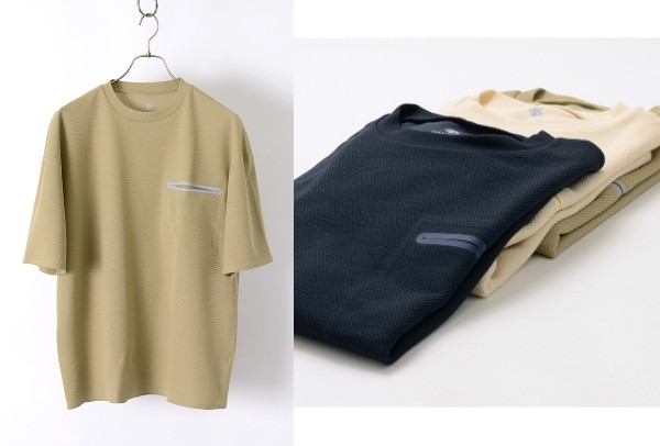 DESCENTE PAUSE(デサントポーズ) サーマル ハーフスリーブ Tシャツ